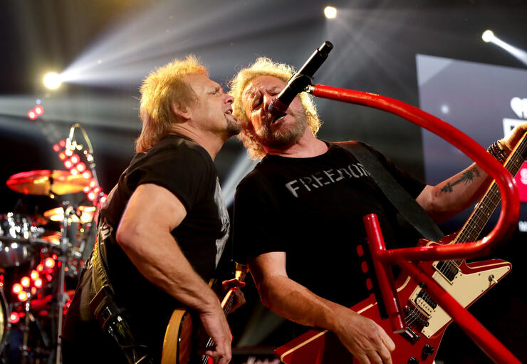 Van Halen Tour 2020.Sammy Hagar S 2020 Tour With The Circle Will Be His Biggest