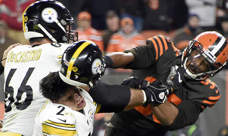 Sports Top Stories - Myles Garrett Claims Mason Rudolph Used Racial Slur Prior To Brawl: Report