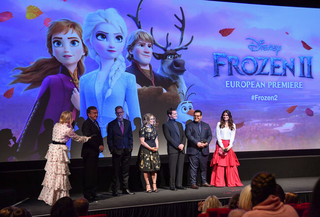 "European Premiere of Disney's ""Frozen 2"""