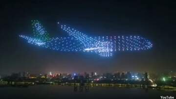 Coast to Coast AM with George Noory - Video: Drone Swarm Forms 'Ghost Plane'