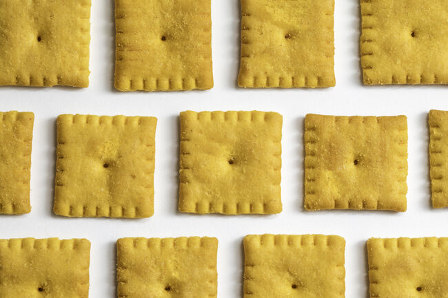 Cheese Flavored Crackers