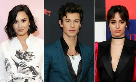 Trending - Demi Lovato Felt 'Old' After Receiving Shawn Mendes & Camila Cabello's Gift