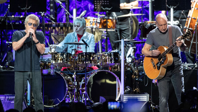 US-BRITAIN-ENTERTAINMENT-MUSIC-THE WHO