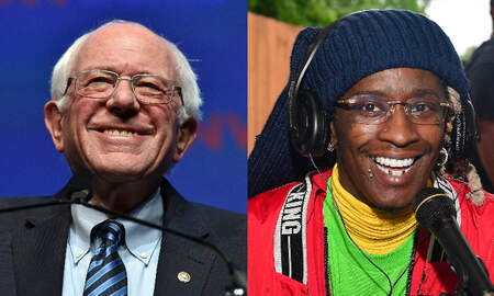 Trending - Bernie Sanders Walks Out To Young Thug's 'Pick Up The Phone' At Rally