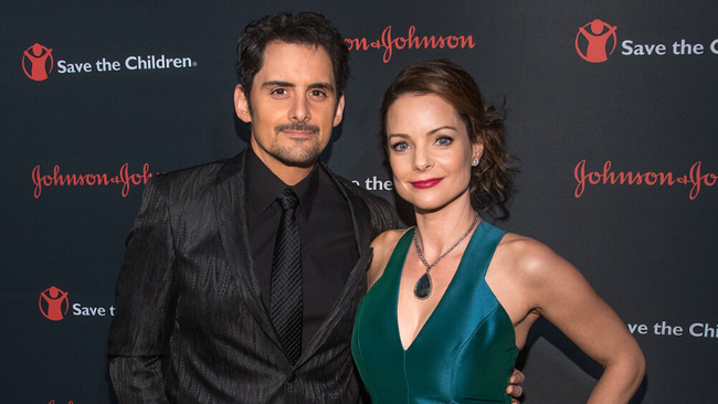 Brad Paisley Says His Wife Kimberly Makes Him A Better Man