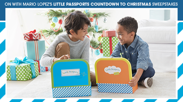 Contest Rules - ON with Mario's Little Passports Countdown to Christmas Sweepstakes Rules