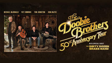image for The Doobie Brothers: 50th Anniversary Tour