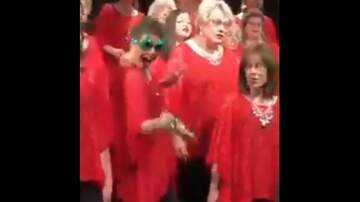 Beth & Friends - Woman's Goofy Dance and Bell Ringing Steals The Show