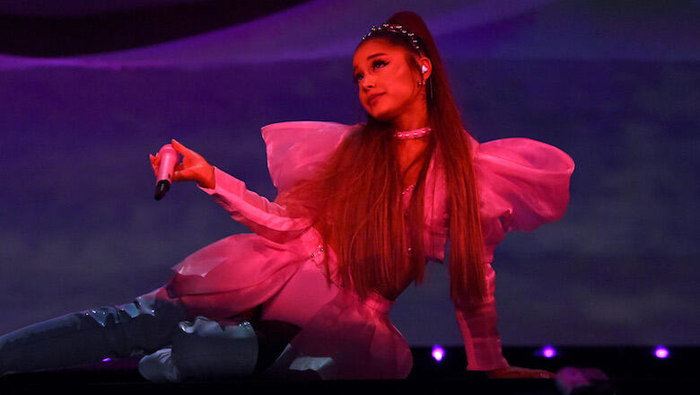 Ariana Grande Had the Best Reaction After Falling Off Stage