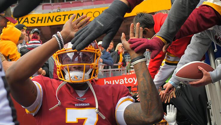 Washington Redskins and the Detroit Lions