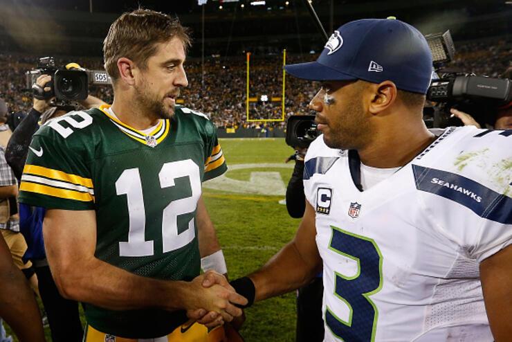 Seattle Seahawks v Green Bay Packers