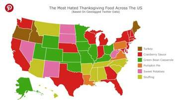 Hemmy - These Are The Most Hated Thanksgiving Foods