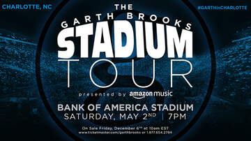 image for Garth Brooks Bank of America Stadium - Charlotte, NC