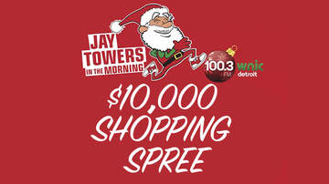 None - Jay Towers in the Morning $10,000 Shopping Spree Finale