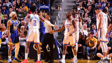 None - Thunder Rally To Beat Warriors, Get First Road Win