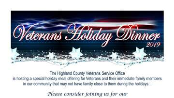 None - Fourth Annual Veterans Holiday Dinner