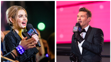 Ryan Seacrest - Lucy Hale and More to Join Ryan Seacrest for 'New Year's Rockin' Eve'!