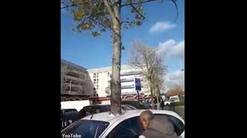 Coast to Coast AM with George Noory - Video: Street Artists Create Amazing 'Car Pierced by Tree' Piece in France