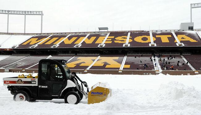 TCF Bank Stadium Prepares To Host Minnesota Vikings Game