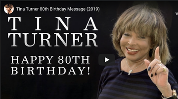 Miss Monique - Tina Turner turned 80 with a message
