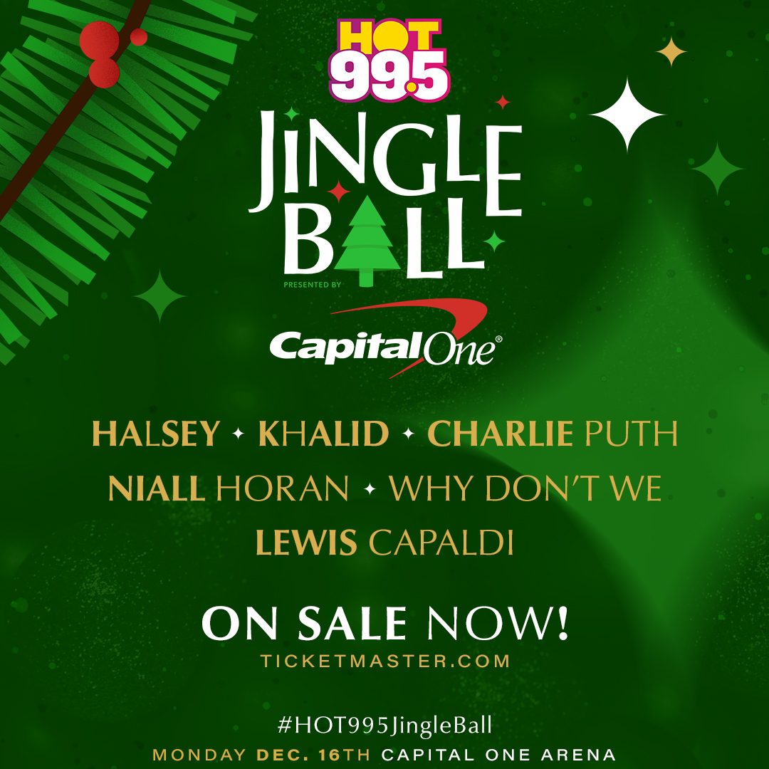 Our 2019 #HOT995JingleBall Lineup