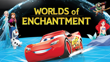 None - Disney On Ice: Worlds of Enchantment Rupp Arena  April 16th – 19th