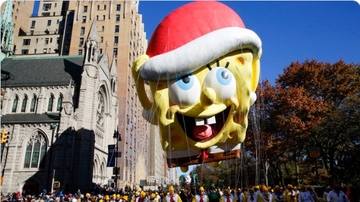 BC - Cops Fear SpongeBob Balloon Will Be Hardest To Control At Macy's Parade