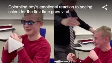 Carter - Colorblind Boy Has Emotional Reaction After Seeing Color For The First Time