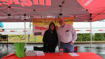 Photos - Live at the Ingles & Eblen Turkey Giveaway!