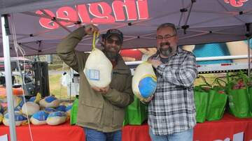 Photos - Live at the Ingles&Eblen Turkey Giveaway with Mark Starling & Pete Kaliner!