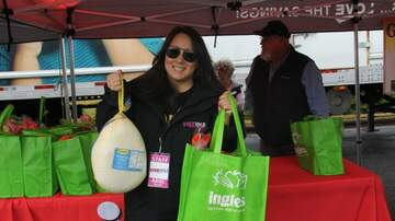 Photos - Live at the Ingles & Eblen Turkey Giveaway, with Ariel Rymer!