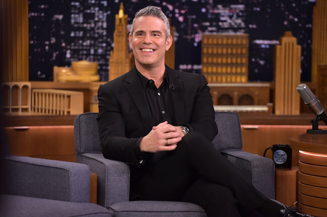 """John Legend, Anderson Cooper & Andy Cohen Visit """"The Tonight Show Starring Jimmy Fallon"""""""