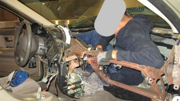 Qui West - Mexican Teen Found Stuffed In Dashboard Trying To Cross Border!