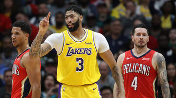 Louisiana Sports - Anthony Davis Helps Lakers Rally In New Orleans Return