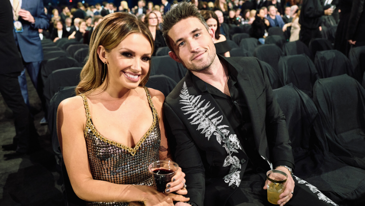 Michael Ray, Carly Pearce Invite Stranger To Join Their Thanksgiving Dinner