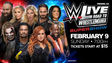 None - WWE Live! Road To Wrestlemania Super Show!