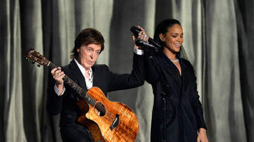 Trending - Rihanna Has Hilarious 'Rihunion' With Paul McCartney on Flight