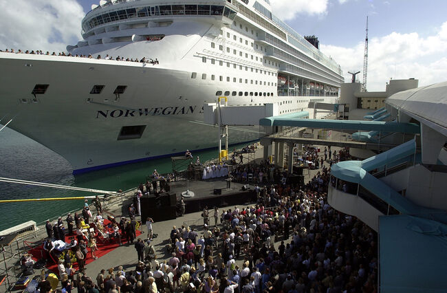 New Norwegian Cruise Lines Ships Christened
