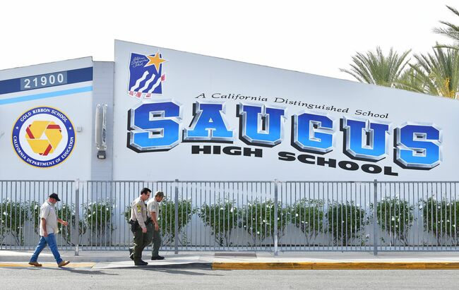 Students Return to Class at Saugus High for First Time Since Mass-Shooting