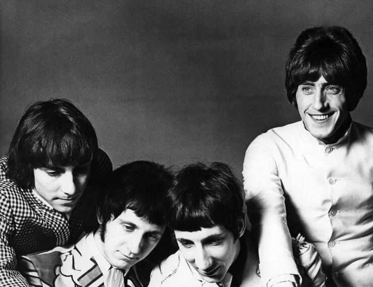 Photo of Keith MOON and WHO and Roger DALTREY and Pete TOWNSHEND