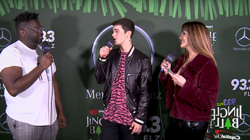 Jingle Ball - AJ Mitchell in the Mercedes-Benz Interview Lounge