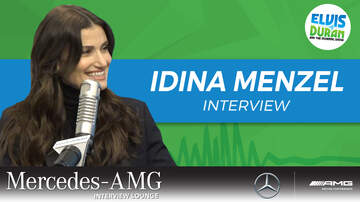Elvis Duran - Idina Menzel Talks Adam Sandler Oscar Buzz For 'Uncut Gems'
