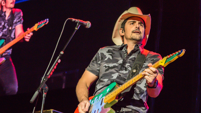 Brad Paisley Shares 'Alive Right Now' Featuring Cancer Survivor Addie Pratt