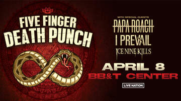 None - Five Finger Death Punch @ BB&T