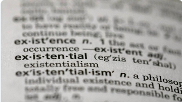 BC - Dictionary.com Names 'Existential' Word Of The Year