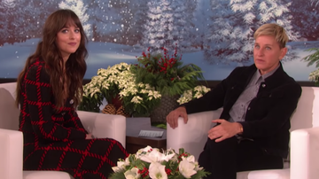 iHeartPride - Dakota Johnson's Awkward Ellen DeGeneres Interview Goes Viral
