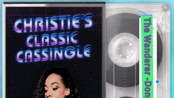 Christie James - Christie's Classic Cassingle- 'The Wanderer'- Donna Summer