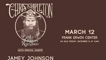 None - Chris Stapleton: All American Road Show at Frank Erwin Center