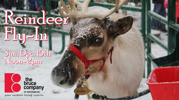 None - Join Z104 at the Bruce Company's Reindeer Fly-In Event on December 15th