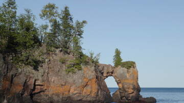 Paul Fletcher - Weekend Storm Toppled The Famous Sea Stack Of Lake Superior